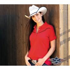 Stars & Stripes sieviešu polo krekls Caitlin